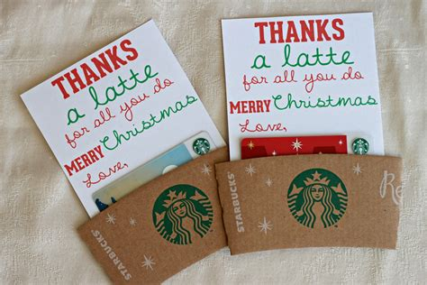 free gift ideas mandie starkey thanks a latte diy gift