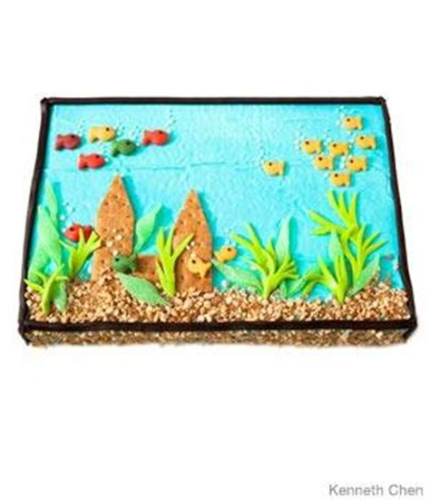 aquarium design ken fish tank birthday cake design parenting
