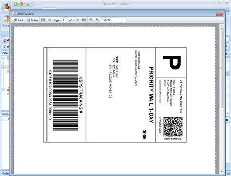 7 shipping label template excel pdf formats