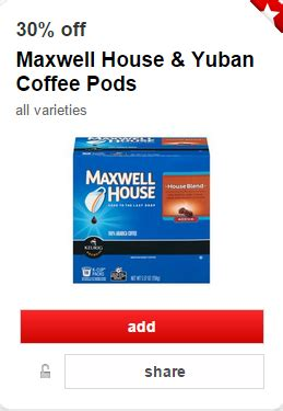 printable coupons for maxwell house k cups maxwell house single serve k cups as low as 6 49 at target