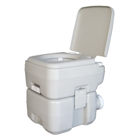 outdoor potty 20l 5 gallon portable toilet travel cing flush potty commode outdoor indoor ebay