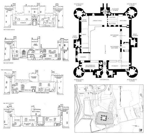 bodiam castle floor plan 84 best castle images on pinterest abandoned places