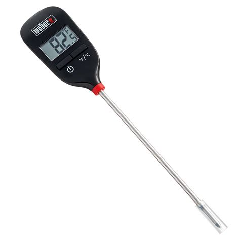 weber instant read grill thermometer 6750 the home depot