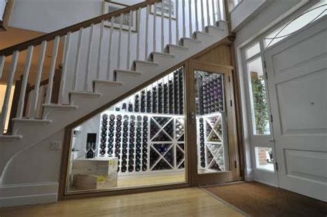 under stair wine cellar wine cellar under the stairs design pinterest