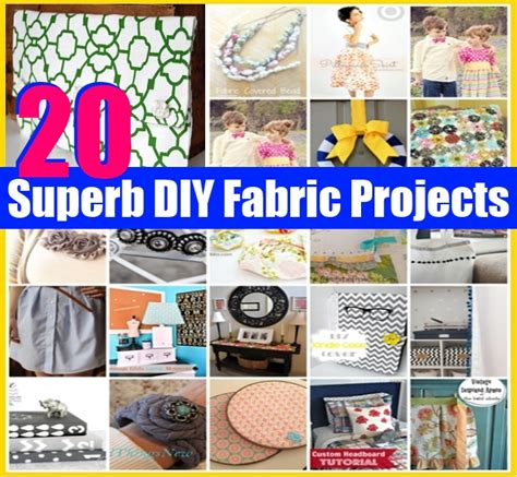 20 superb diy fabric projects diy home things