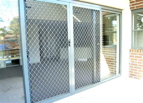 sliding door security bar burglar bars for sliding glass doors stephanegalland