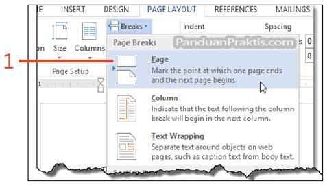 cara membuat halaman yang berbeda di word 2013 cara membuat header yang berbeda untuk halaman pertama