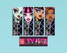 printable monster high bookmarks free printable monster high coloring pages for kids