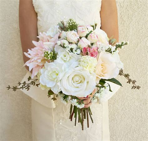 Wedding Flowers Silk by Wedding Bouquet Silk Flower Bouquet Wedding Flowers