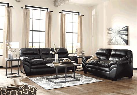 overstock living room sets tassler durablend 174 black sofa set overstock warehouse