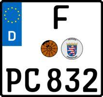 H Kennzeichen F R Motorrad by Nummernschild Generator Eigene Kennzeichen Und