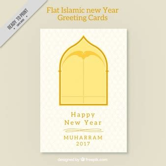 new year card size muharram vectors photos and psd files free