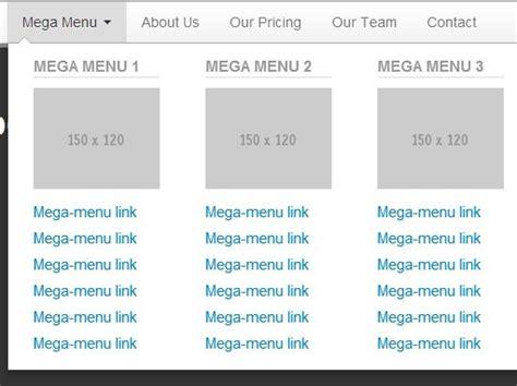 design dropdown menu bootstrap jquery mega menu plugins jquery script