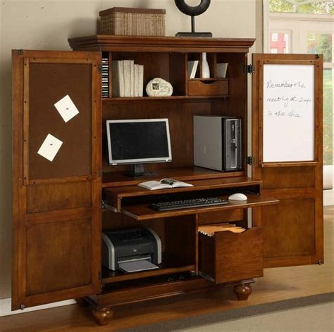 armoire desk with file drawer computer armoire a useful furniture piece for a small home office