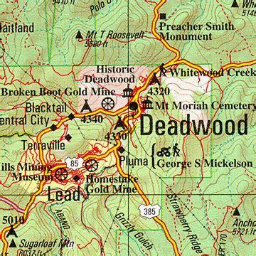 south dakota delorme atlas: road maps, topography and more!