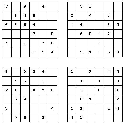 printable sudoku 4 on a page free sudoku printables health symptoms and cure com