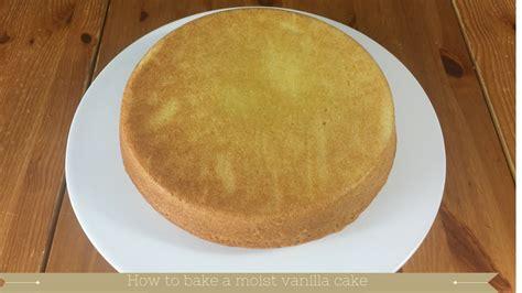 moist 8 inch vanilla sponge cake recipe meadow brown bakery
