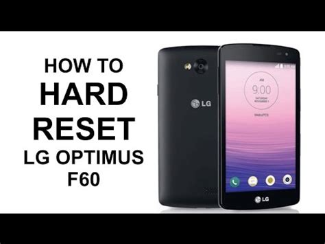how to hard factory reset a vizio smart tv how to hard reset lg optimus f60 master reset smart