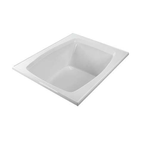 mti bathtub mti basics bathtub 59 25 quot x 47 5 quot x 19 75 quot free