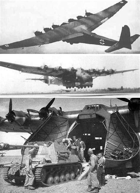 """Die Messerschmitt Me-323 """"Gigant"""" war die zunächst mit"""