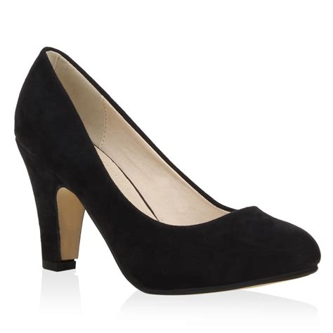 ab wann sind schuhe high heels damen pumps blockabsatz high heels wildlederoptik schuhe