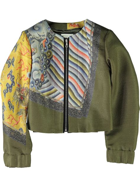 Sweater Vans Batik Lyst Dries Noten Dries Noten Womens Batik Jacket