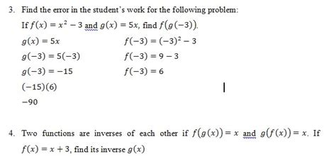 Composite Functions Worksheet With Answers by Composition Of Functions Of Worksheet Pdf And Answer Key
