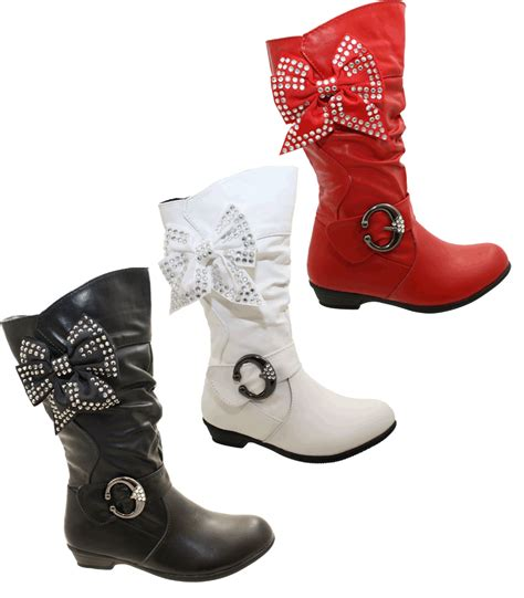 fancy boots for black white silver sequins bow fancy boots