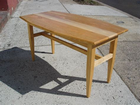 made cherry maple coffee table by gideon rettich