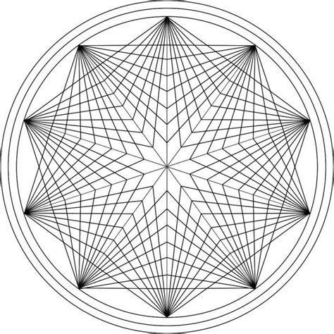 geometric pattern mandala geometric mandala coloring pages coloring home