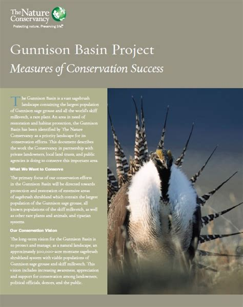 skiff milkvetch gunnison basin project measures of conservation success