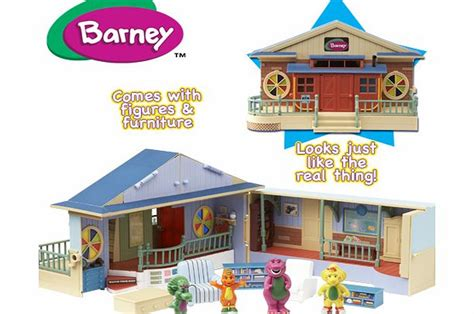 House Playset Limited barney deluxe school house playset childs review