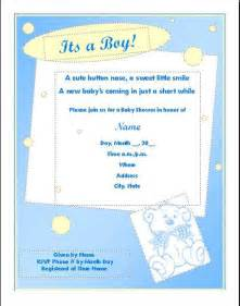 baby shower invitation templates microsoft word templates