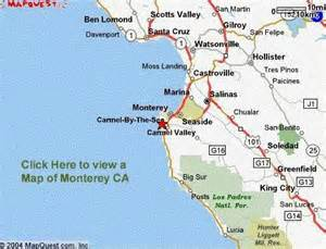 california map monterey the jabberwock bed and breakfast monterey ca
