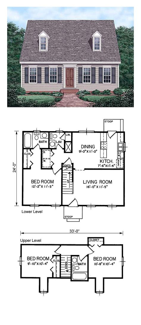 cape house floor plans cape cod house plan 45336