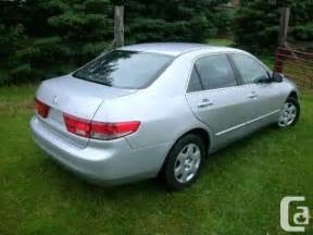2005 Honda Accord For Sale 2005 Honda Accord For Sale For Sale In Armstrong