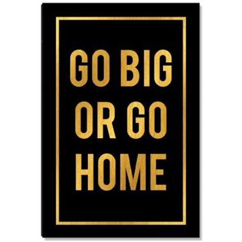 go big or go home gold series i all posters