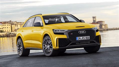 Rs 8 Audi by Big Bold Audi Q8 And Q8 Rs Rendered