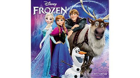 2018 disney frozen wall calendar mead mead 2017 disney frozen wall calendar hth545 17