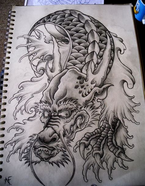 japanese dragon tattoo tattoos designs and japanese