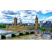 Palace Of Westminster And Big Ben Bridge London  HD