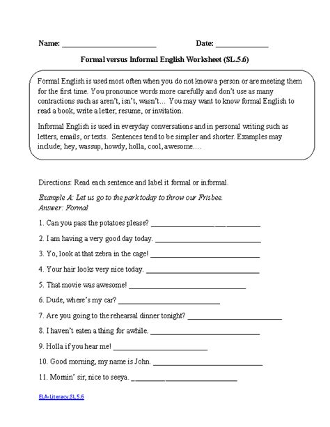 english themes for grade 5 5th grade common core speaking and listening worksheets