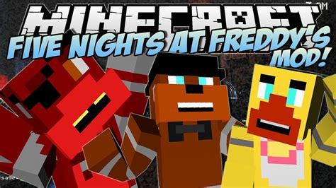 Pdf Five Nights At Minecraft 2 by This Is A Minecraft Five Nights At Freddys Mod From A