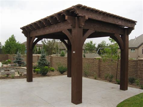Before After Fast Easy Home Improvement Western Timber Frame Pergola Kits