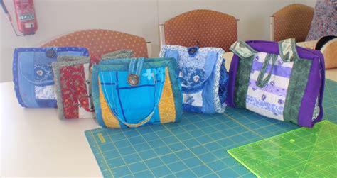 Mug Bags Patchwork Pattern - shocking hocking class mug bag