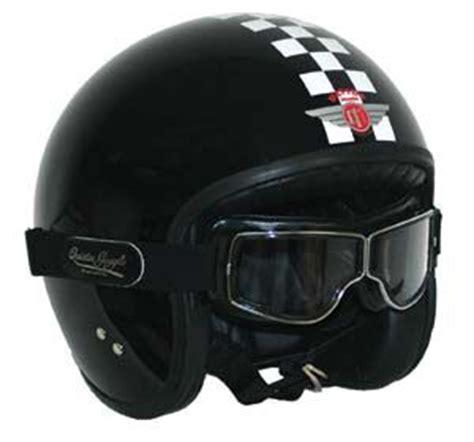 Shark Motorradbrille by The Davida Jet Helmet With Aviator Pilot T1 Goggles