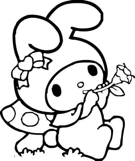 My Melody Coloring Pages Fantasy Coloring Pages Images Coloring Pages
