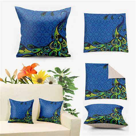 Popular Pillows Popular Peacock Decorative Pillows Buy Cheap Peacock