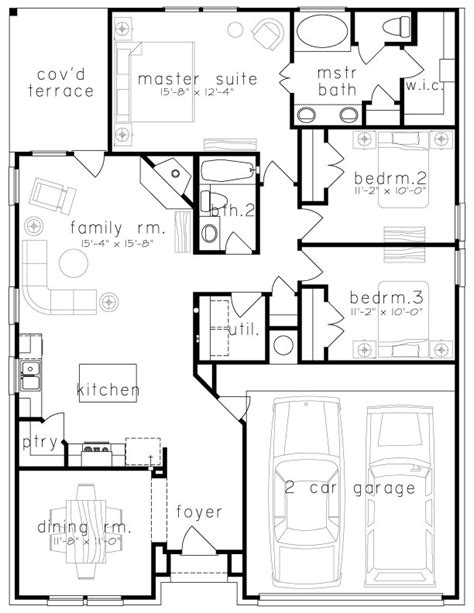 plan 1547 saratoga homes houston