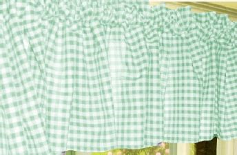 mint green kitchen curtains mint green gingham kitchen caf 233 curtain unlined or with